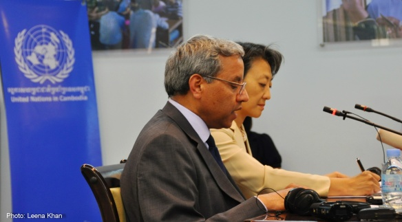 UN Special Rapporteur on the situation of human rights in Cambodia