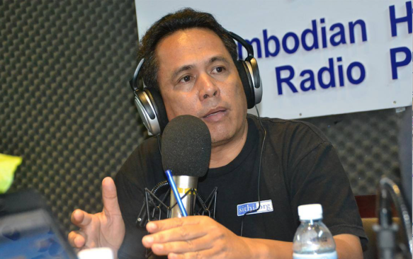 Kem Ley at CCHR Radio Talkshow